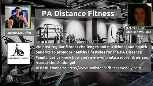 PA Distance Fitness