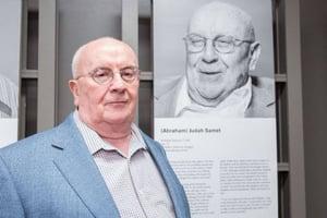 Judah Samet is a survivor of Judah Sametthe Bergen-Belsen extermination camp.