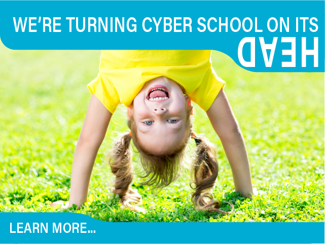 We are turning cyber school on it's head