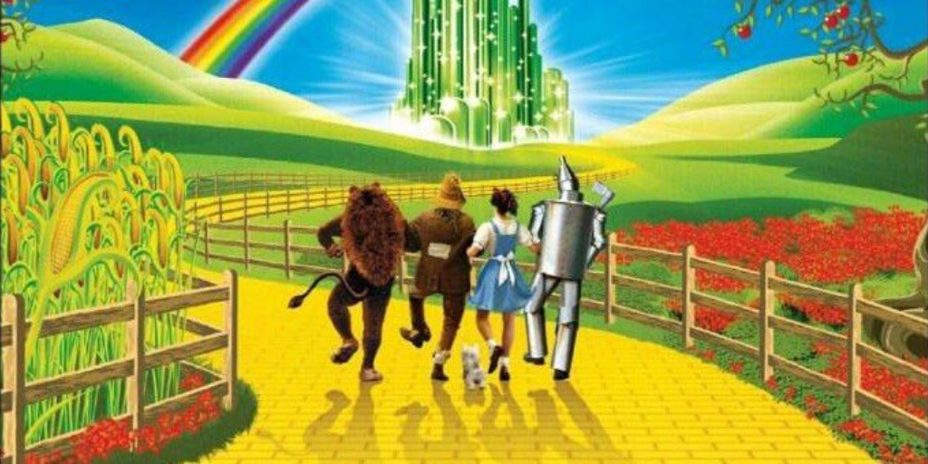 Wizard of Oz Yellow Brick Road